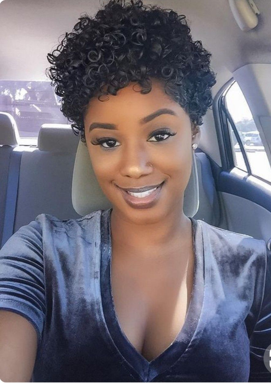 Beauty Choco In 2019 Natural Hair Styles Short Curly Hair
