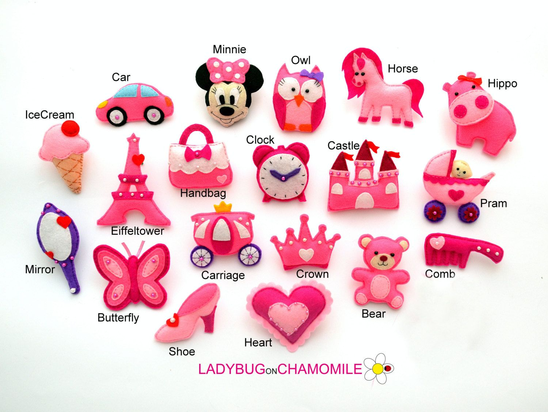 Prinzessin BABY GIRL pink süß Magnete von LADYBUGonCHAMOMILE