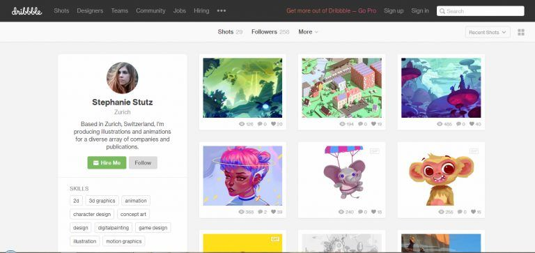 Free Websites To Create Your Online Art Portfolio Brushwarriors Art Portfolio Online Art Art