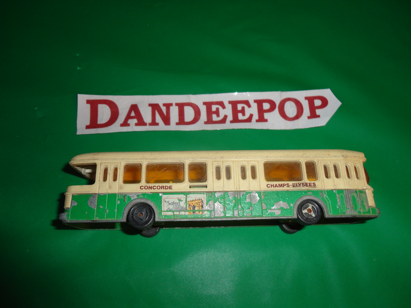 Vintage Majorette Autobus Toy Vehicle No 310 Made in France ECH 1/87 Concorde Champs Elysees find me at www.dandeepop.com