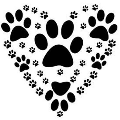 Resultado De Imagem Para Corazon Con Huellas De Perro Tatuaje De Pata De Perro Tatuajes Patitas De Perro Patas De Perro