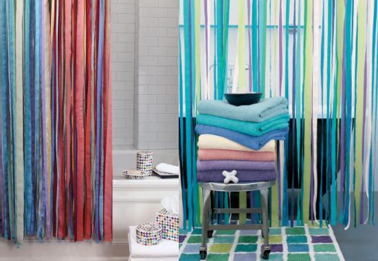 garnet hill ribbon shower curtain