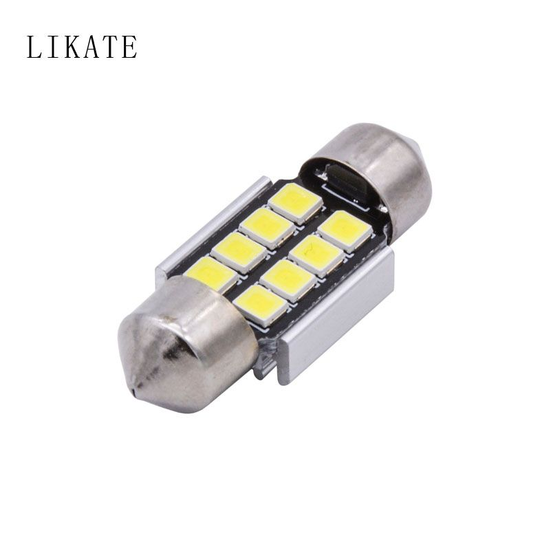 Likate 4x Canbus 36mm 39mm 41mm 31mm For Samsung Led Chip 5050 6418 C5w External Interior Lights 12v Car Light Source Pa Car Lights Interior Lighting Lights
