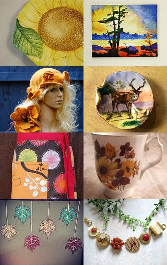 Because Your Spring is Our Fall by Sue Freer on Etsy--Pinned with TreasuryPin.com