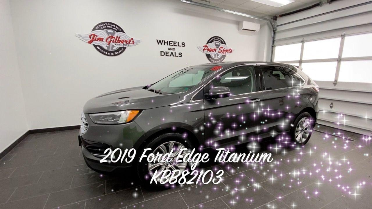 2019 Ford Edge Titanium in 2020 Ford edge, Used suv