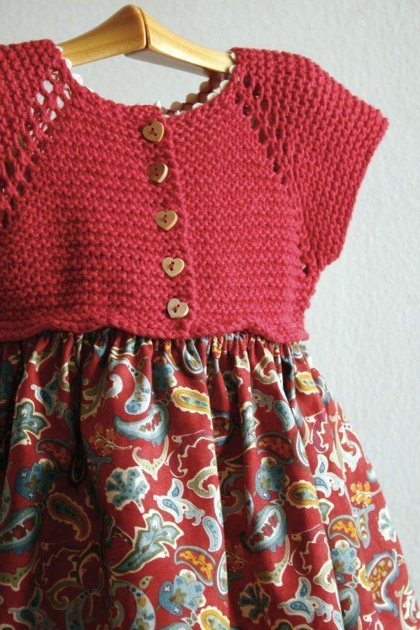 punto niños(2) | vestidos | Pinterest | Crochet, Baby knitting and ...
