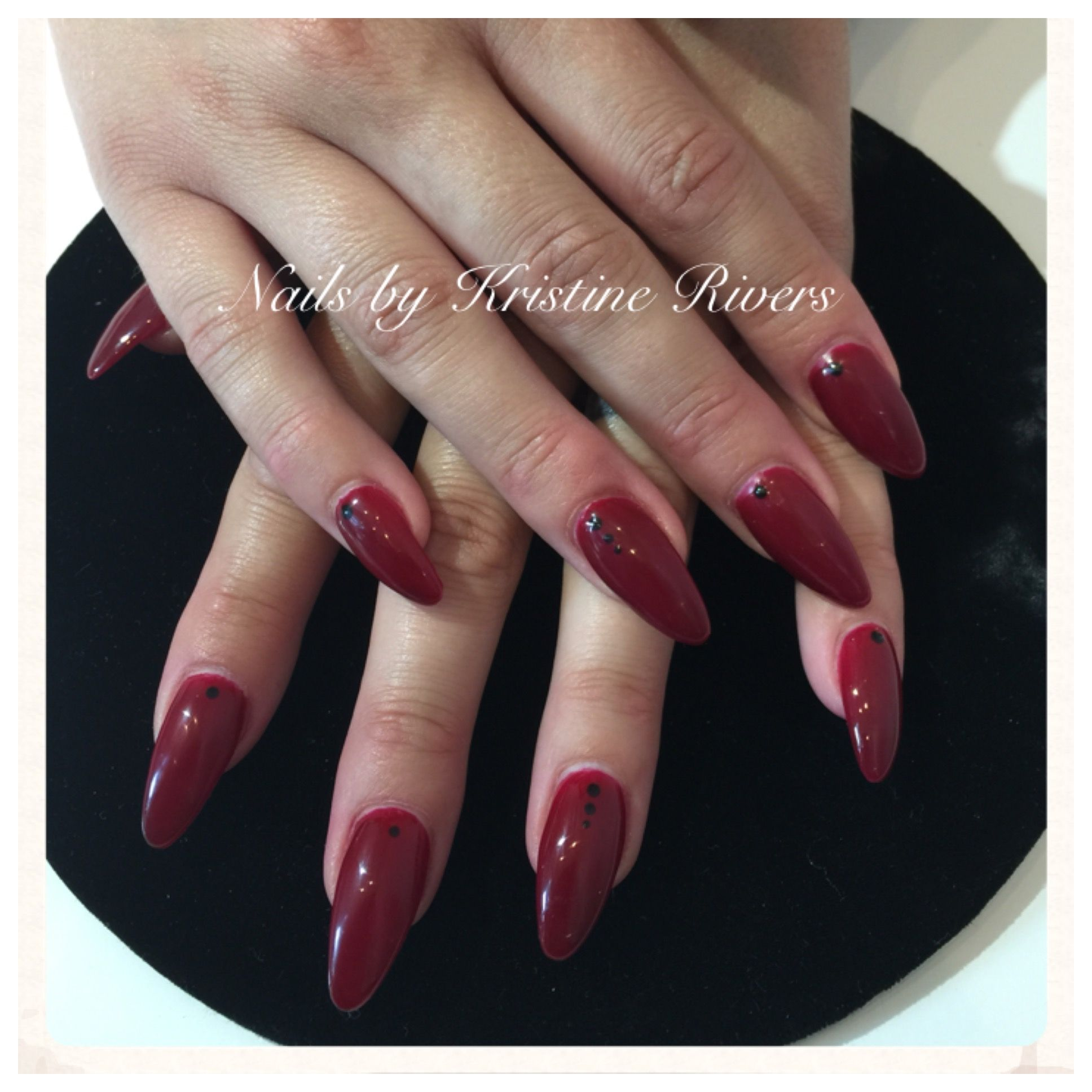 Pin by Kristine Rivers on Nails by Kristine Rivers   Pinterest   Red ...