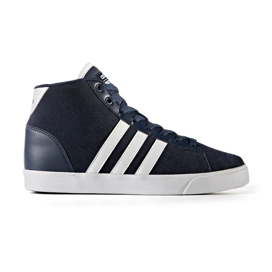 Adidas NEO Cloudfoam Daily QT Mid Women's Shoes, Size: 11, Blue (Navy)