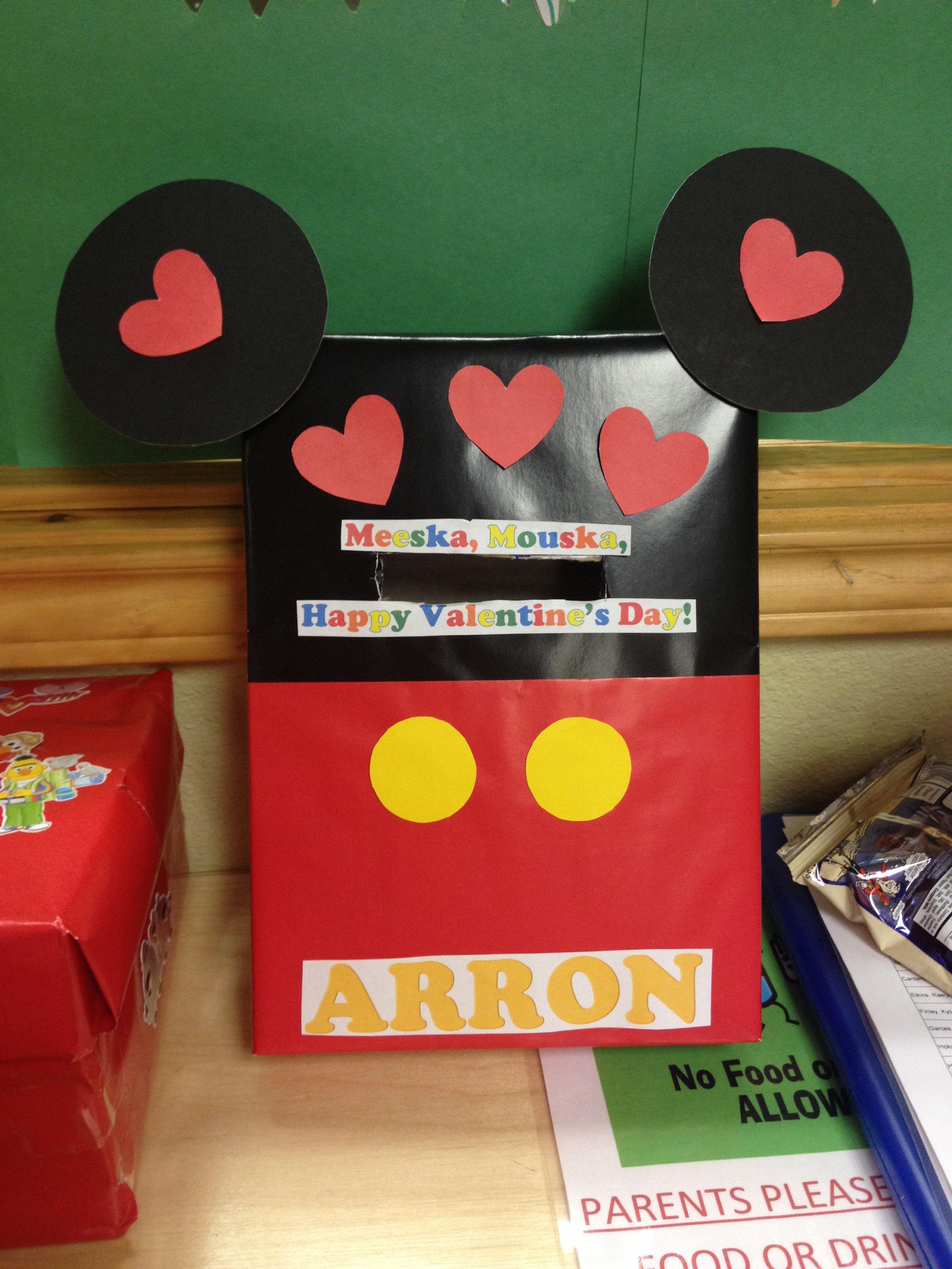 Mickey Mouse Valentine S Box