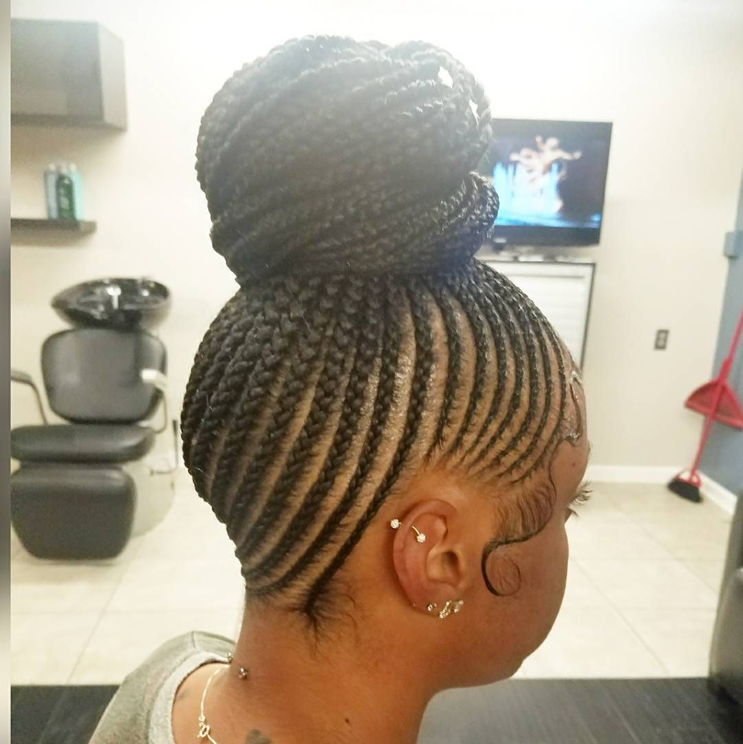 how to put box braids in a high ponytail