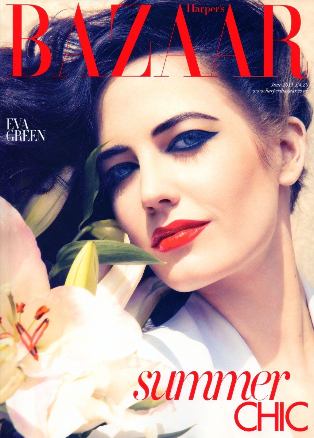 UK Harper's Bazaar 2011 - Eva Green by Camilla Akrans