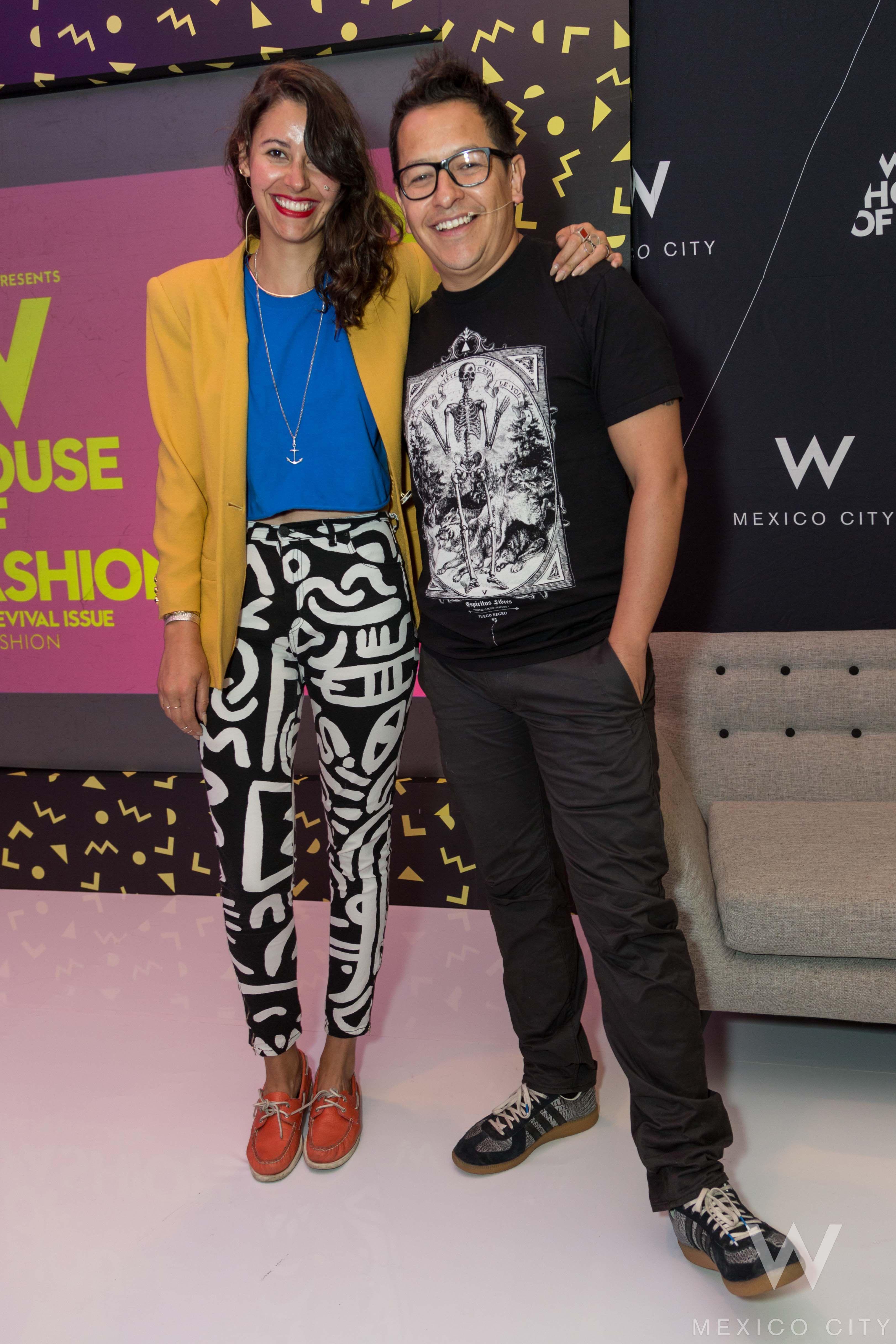 Sesión de Behance Review con Nayeli de Alba y David Franco en W House Of Fashion: The Revival Issue.  http://winsidermexico.com/2015/03/7-w-house-of-fashion/ #WFASHION #WINSIDER