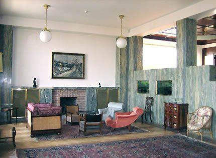 Great HY Art #110703: Gesamtkunstwerk In Early 20th Century Vienna | Raumplaner,  Farbgestaltung Und Jugend