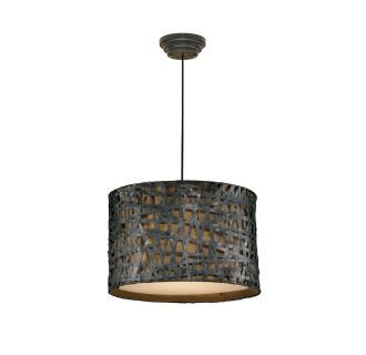 View the Uttermost 21104 Alita 3 Light Metal Hanging Shade Pendant from the Naturals Collection at LightingDirect.com.