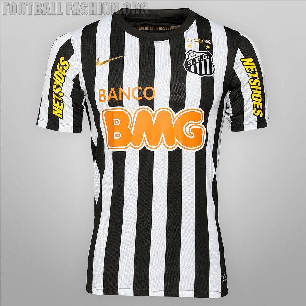 054c0ef07 Santos FC Nike 2012 Away Kit Neymar 2012