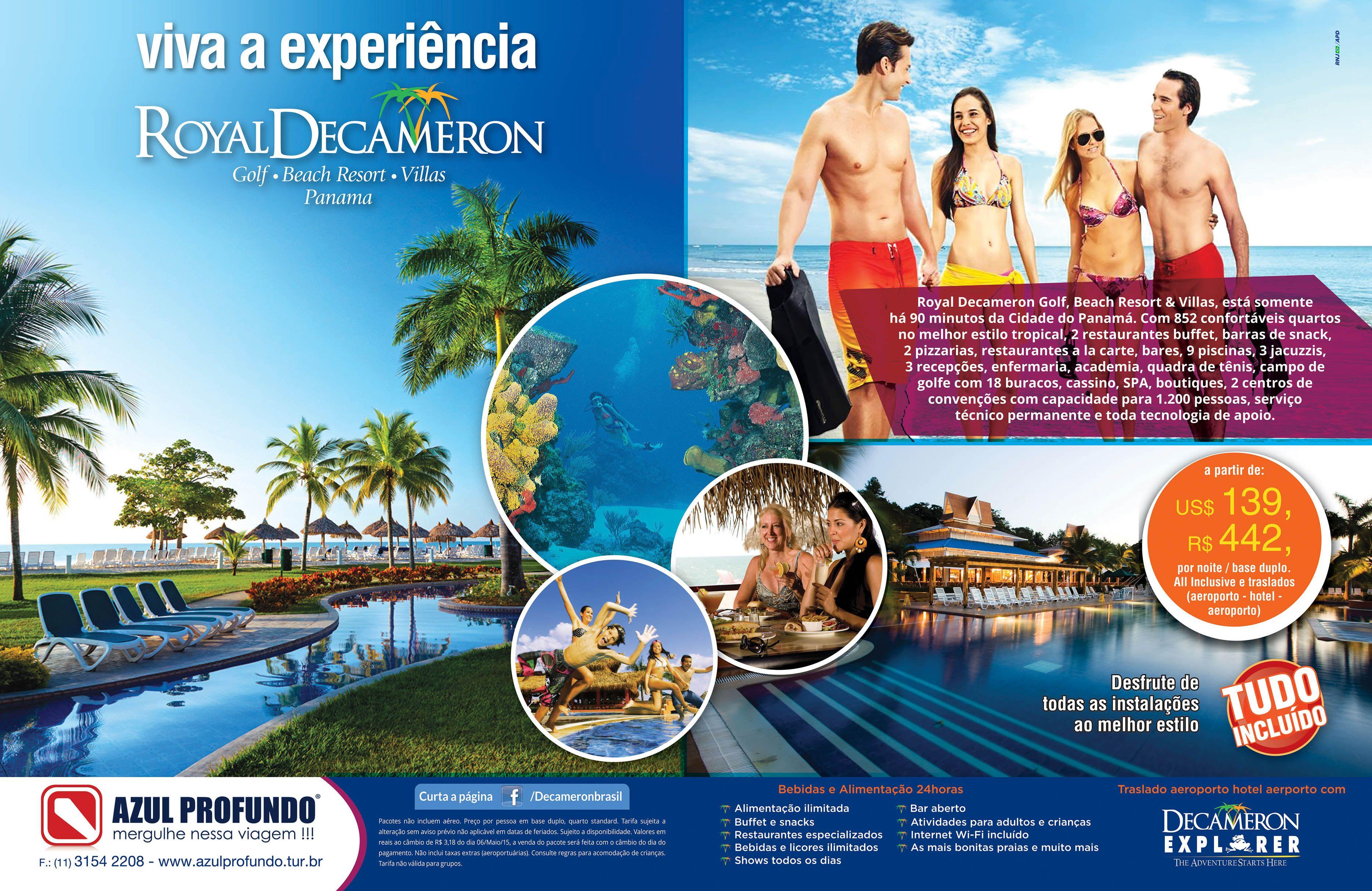 Cliente Decameron Produto Royal Golf Beach Resort Villas Panamá