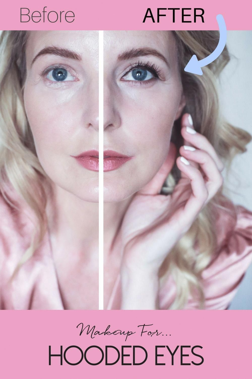 How To Apply Makeup On Your Hooded Eyes Over 40 Makeup