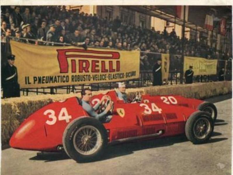 1953 Ferrari 500 (Alberto Ascari & Nino Farina)