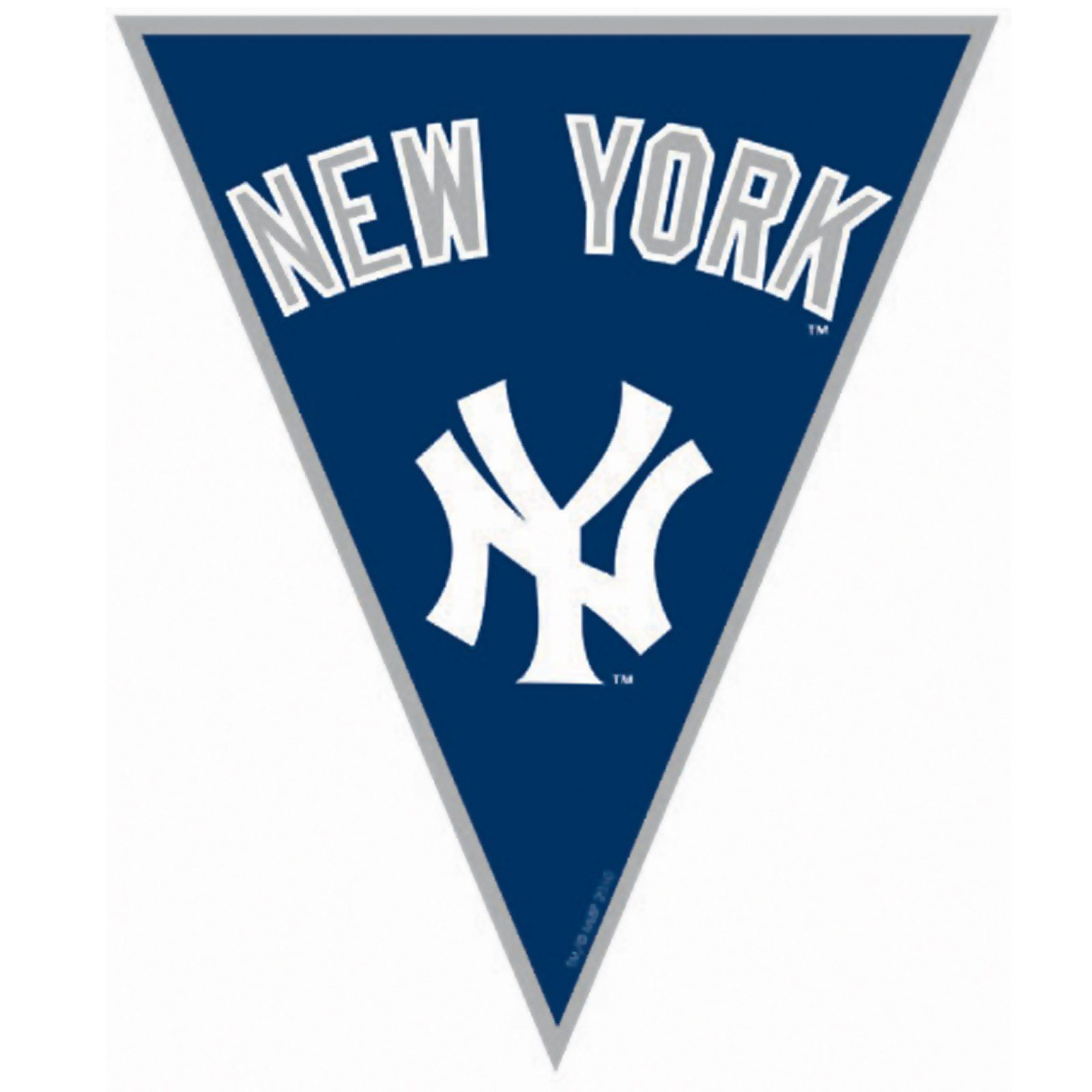 New York Yankees Baseball Pennant Banner Baseball Pennants New York Yankees Baseball Yankees Baseball