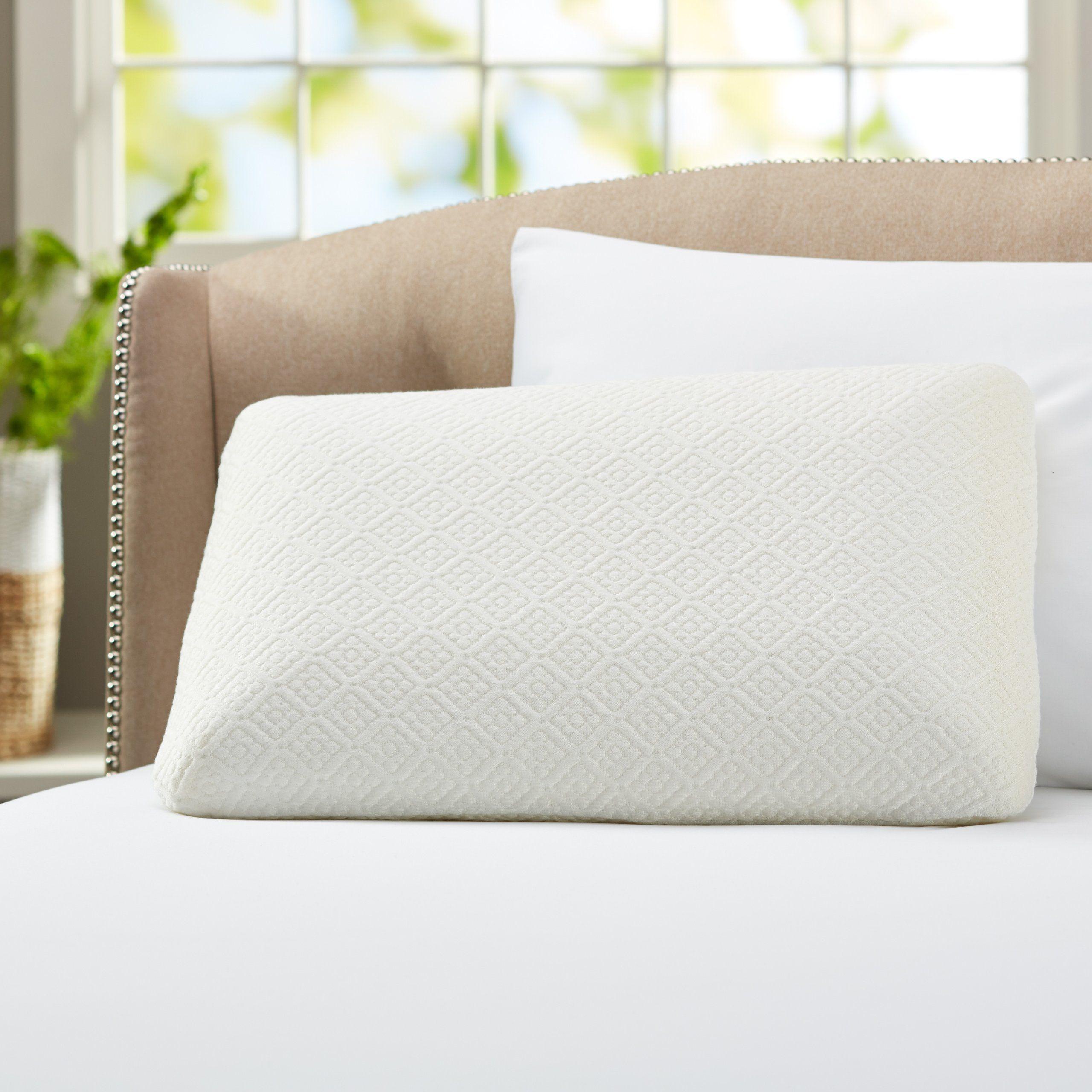 Amazon Com Pinzon Classic Memory Foam Pillow Bedding Bath