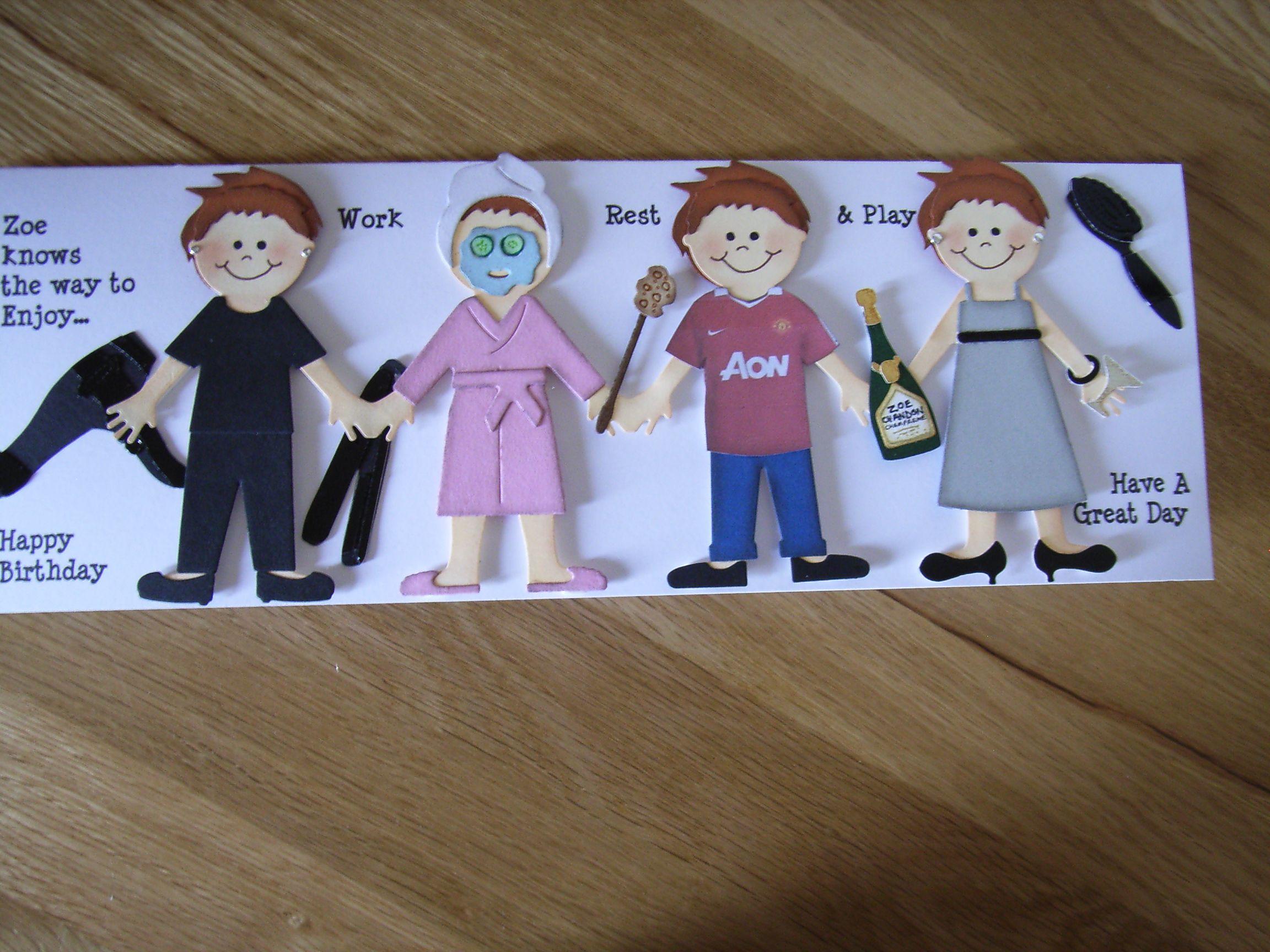 Hairdresser birthday card using quickutz revolution doll clothes hairdresser birthday card using quickutz revolution doll clothes and accessories dies kristyandbryce Gallery