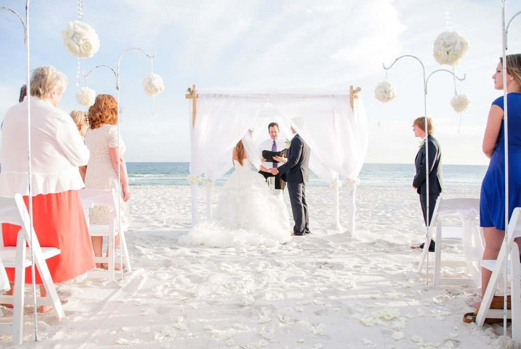 Real Panama City Beach Weddings Meghan And Jefferey Panama City Beach Wedding