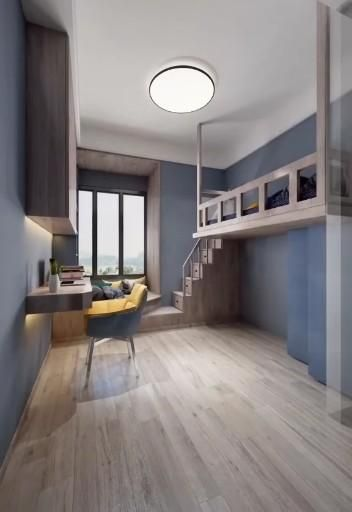 Awesome 3D Representation of designing Interior, H