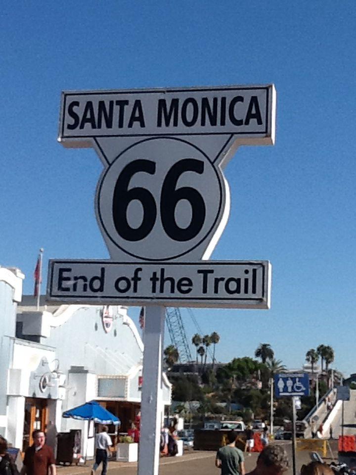 End of Route 66.....Santa Monica Pier!