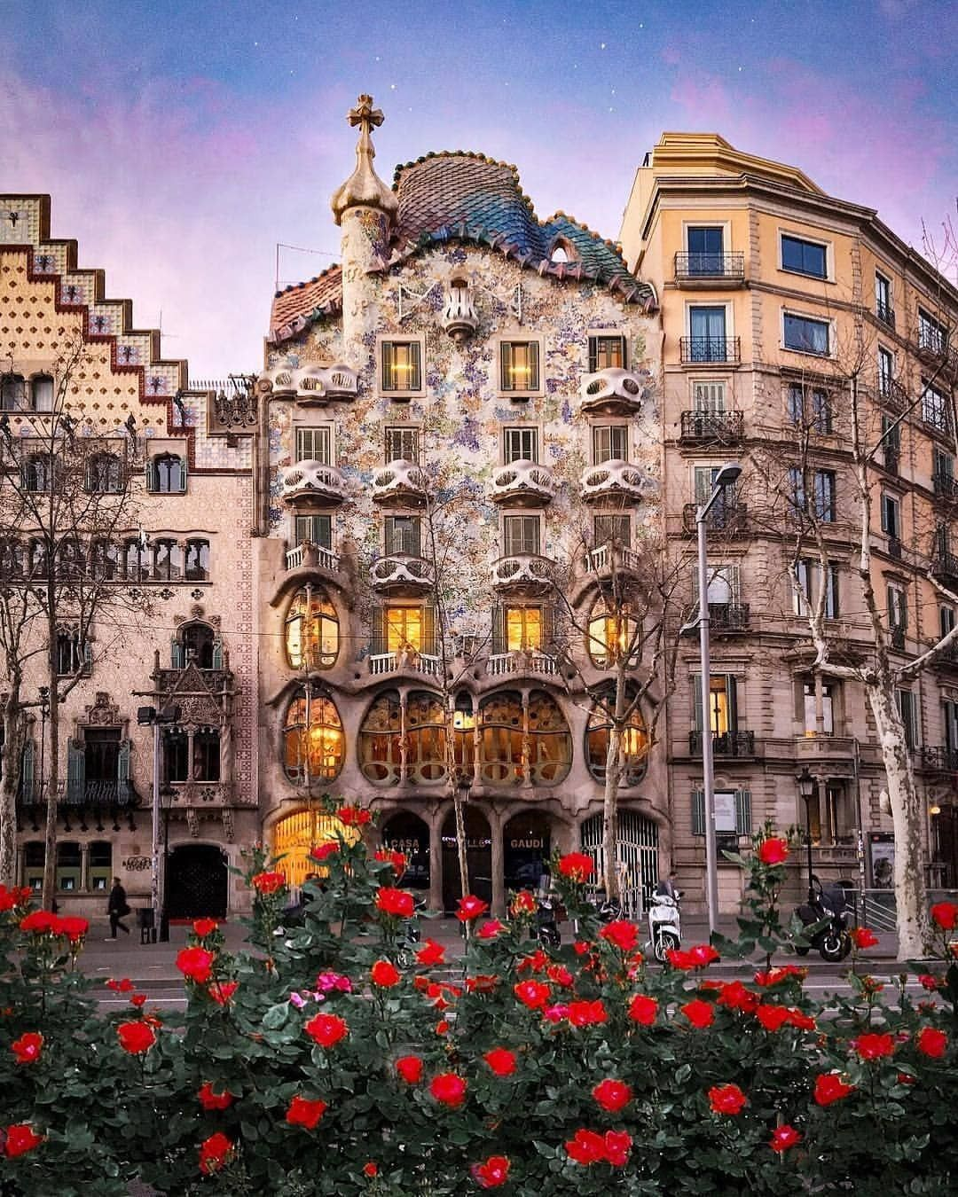 Casa Batllo Barcelona Spaina Beautifulplaces Places Placestovisit Spain Spaintraveling Travel Traveldestinations Spain Travel Spain Places To Visit