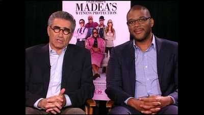 """Eugene Levy, Tyler Perry talk new movie, """"Madea's Witness Protection"""" #video"""