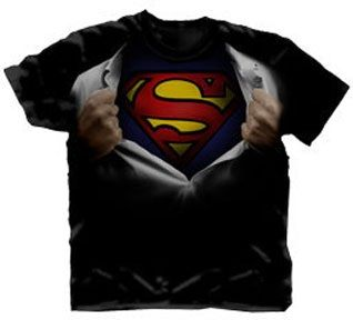 9bdc26a1 Superman Ripping Open Shirt T-Shirt | logo t-shirts | Shirts, T ...