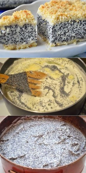 Photo of German poppy seed curd- German poppy seed curd Germ …