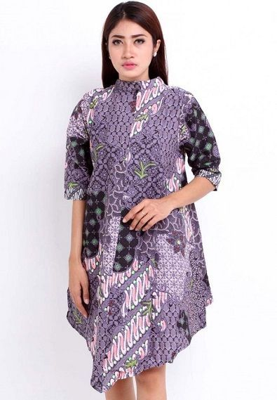 Kumpulan Model Baju Batik Wanita Terbaru 2016 Yang Lagi Trend  67c6f86cf1