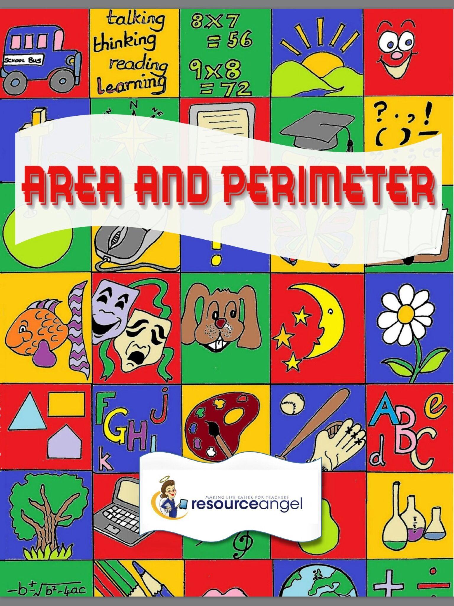 Area Amp Perimeter Printables