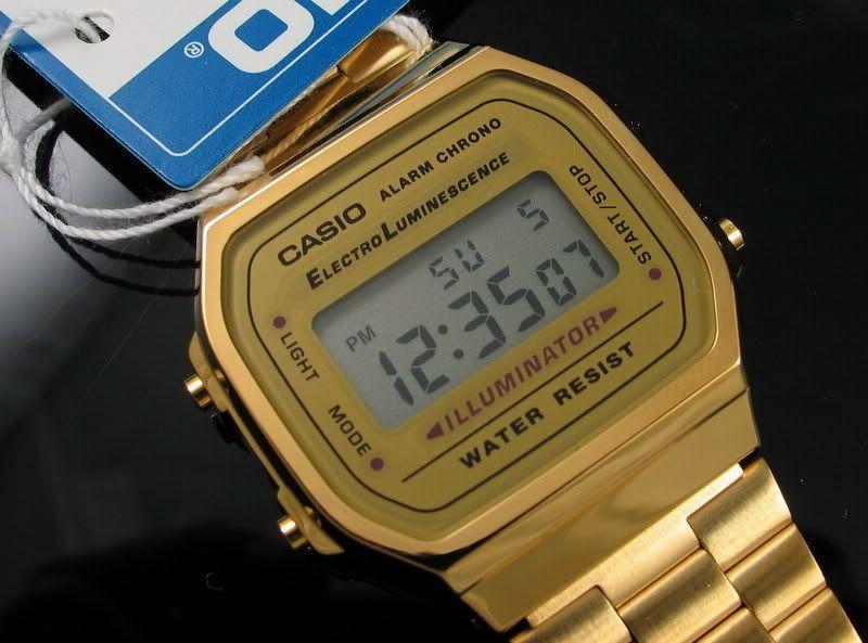 e0642eb337a Relógio Casio A168 Original