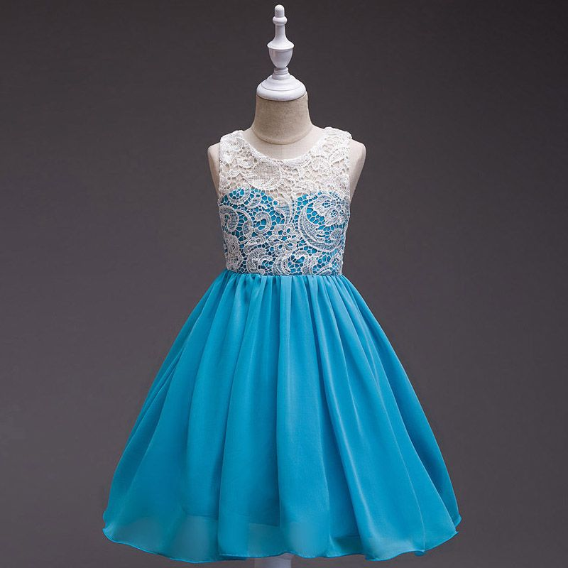 New Arrival Summer Gorgeous Formal Girls Dress Teen Prom Lace ...