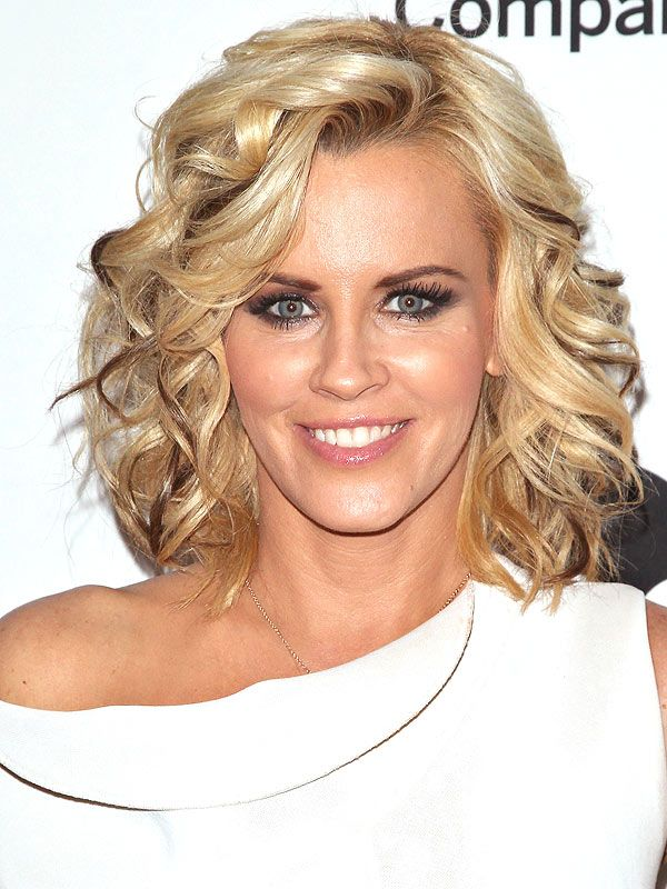 Brilliant I Cant Stand Jenny Mccarthy But I Love The Blonde Bob Square Hairstyles For Women Draintrainus