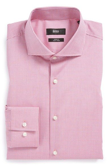 b15b96d1 BOSS HUGO BOSS 'Jason' Slim Fit Easy Iron Dress Shirt | Nordstrom ...