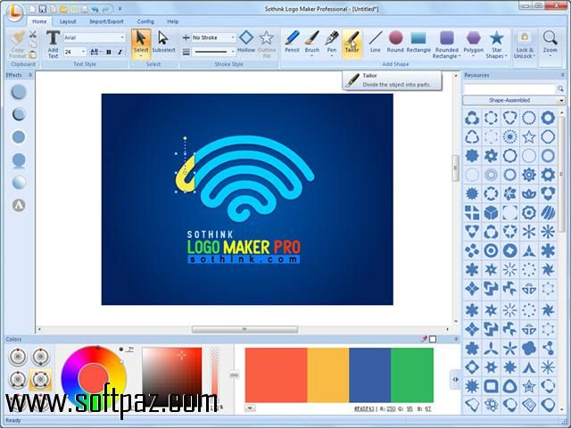 Get The Sothink Logo Maker Professional Software For Windows For Free Download With A Direct Download Link Having R Logo Maker Free Logo Design Free Logo Maker