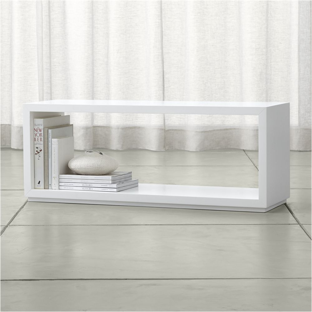 Furniture Aspect White Modular Storage Collection