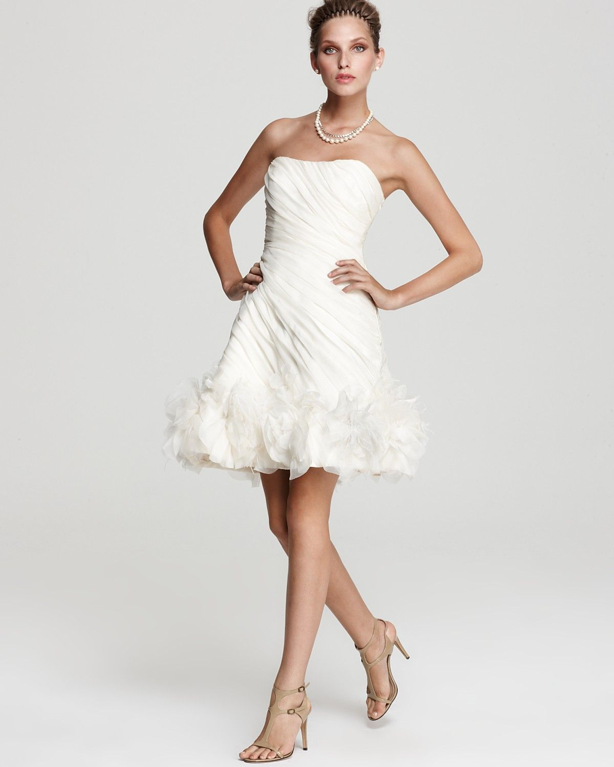Theia strapless organza cocktail dress bloomingdales wedding theia strapless organza cocktail dress bloomingdales ombrellifo Images