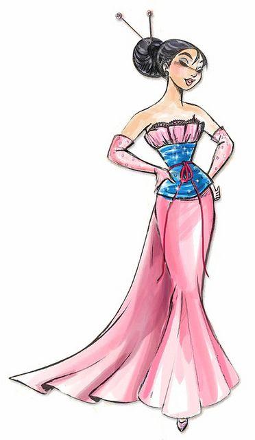 Disney Princess Designer Collection-Mulan