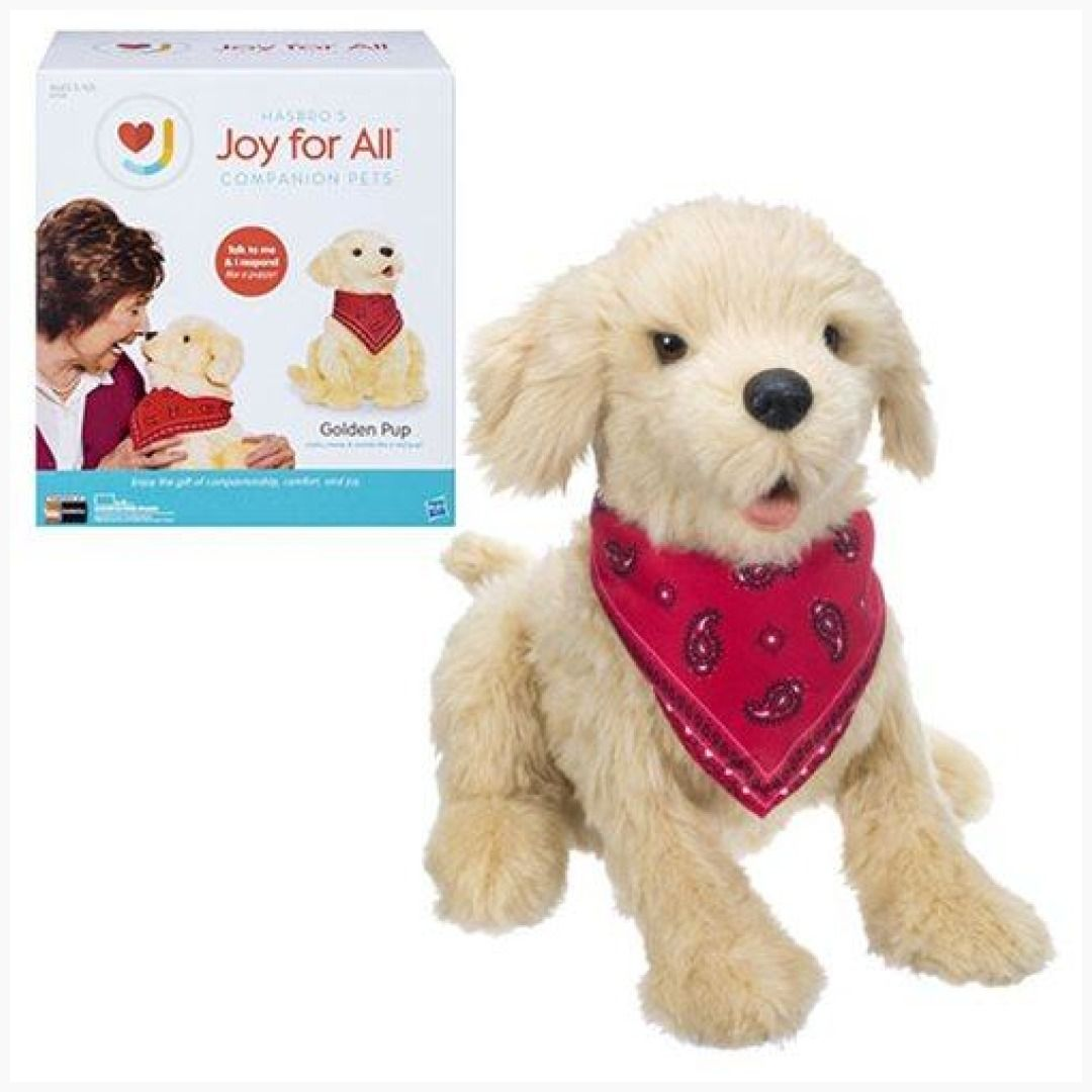 Joy For All Golden Pup Puppy Dog Plush Dogs and puppies