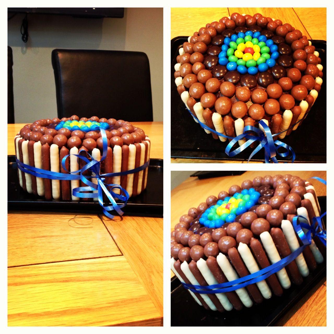 Kid Brothers Homemade Birthday Cake My Birthday Pinterest