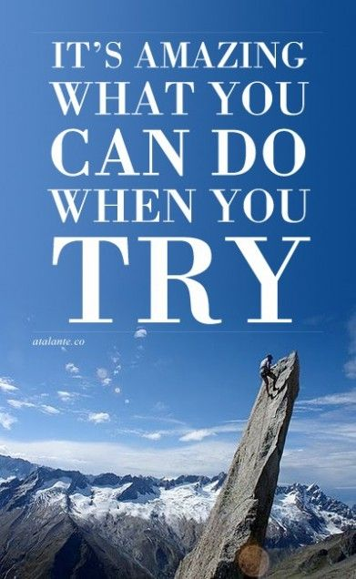 It's better to fail but tried than doing nothing. - www.CortiSlim.com