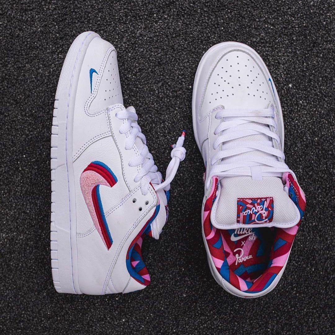 The Piet Parra x Nike SB Dunk Low will