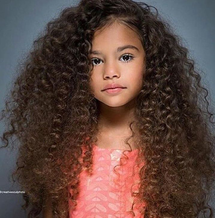 Mixed Hairstyles Entrancing Pinneisha Rochelle On Hair  Pinterest  Curly Baby Fever And
