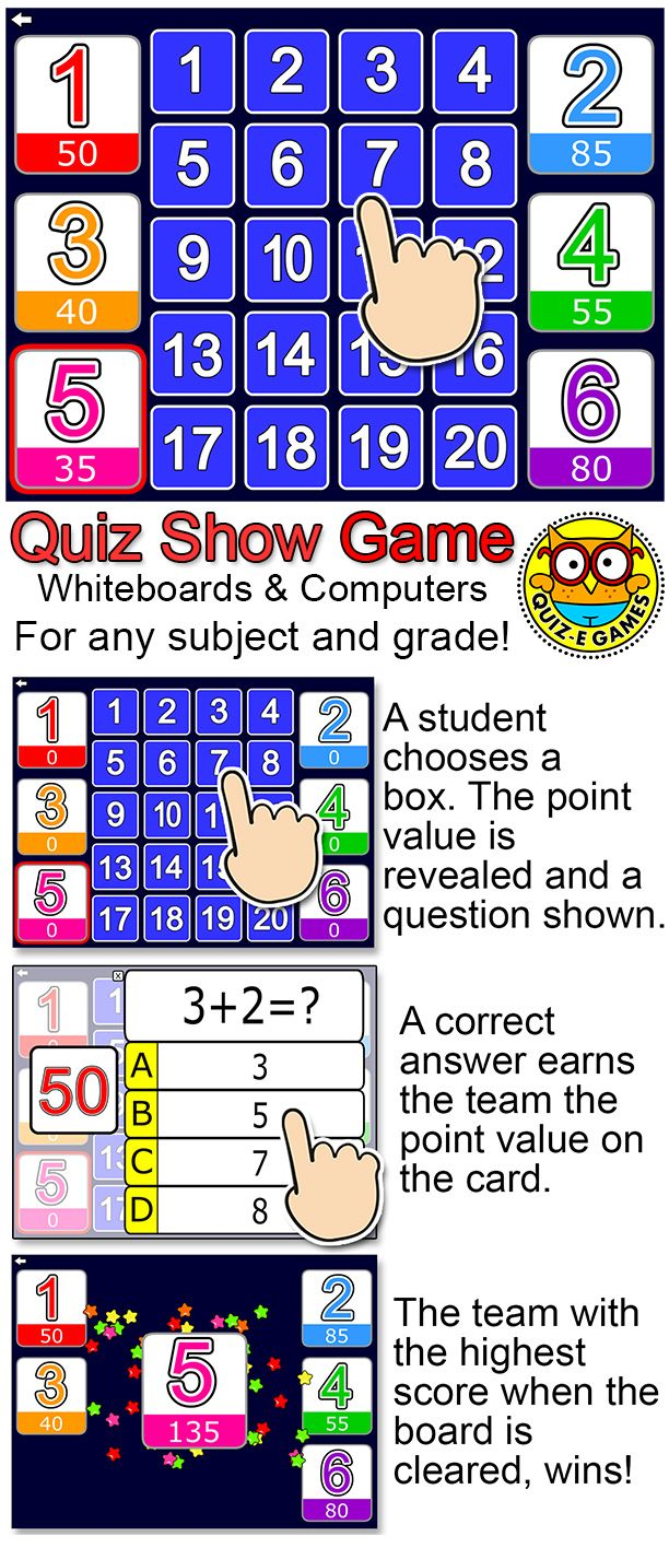 Quiz Show Digital Review Game for Any Subject - Fun Test Prep ...
