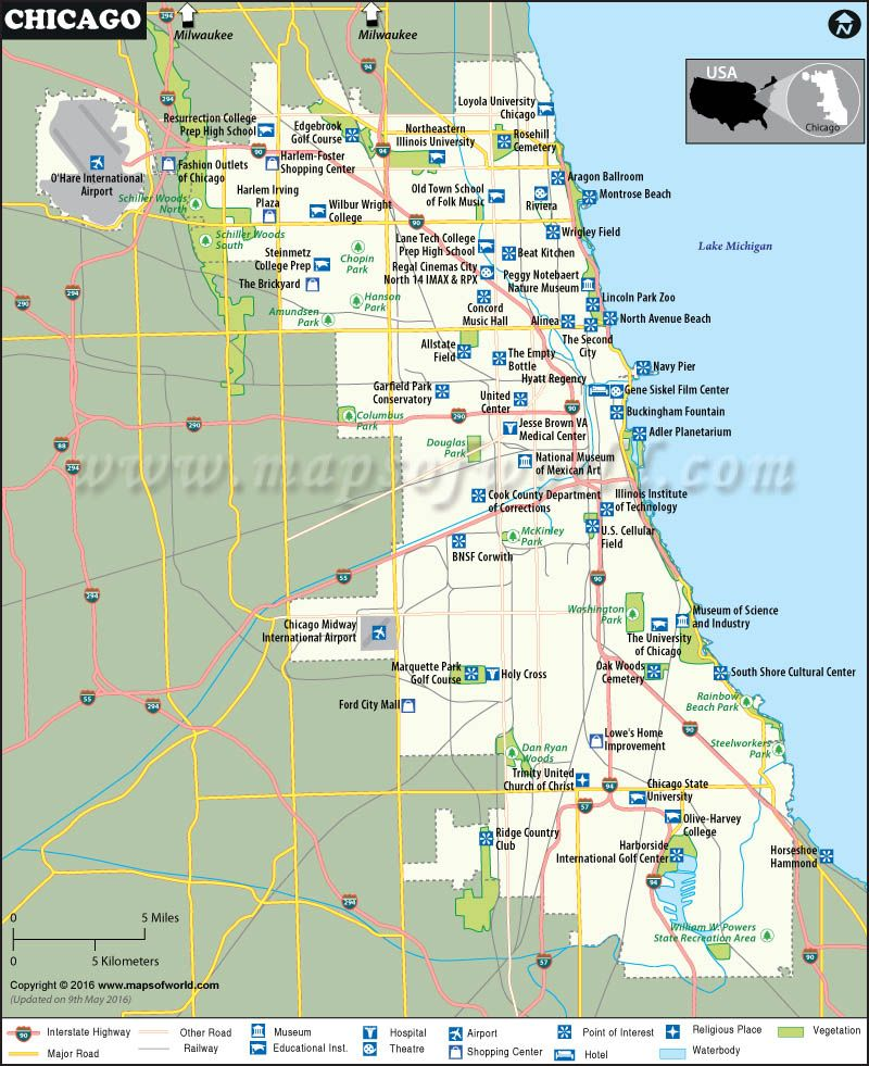 Chicago Map Maps Pinterest Chicago Chicago Neighborhoods - Map of illinois cities