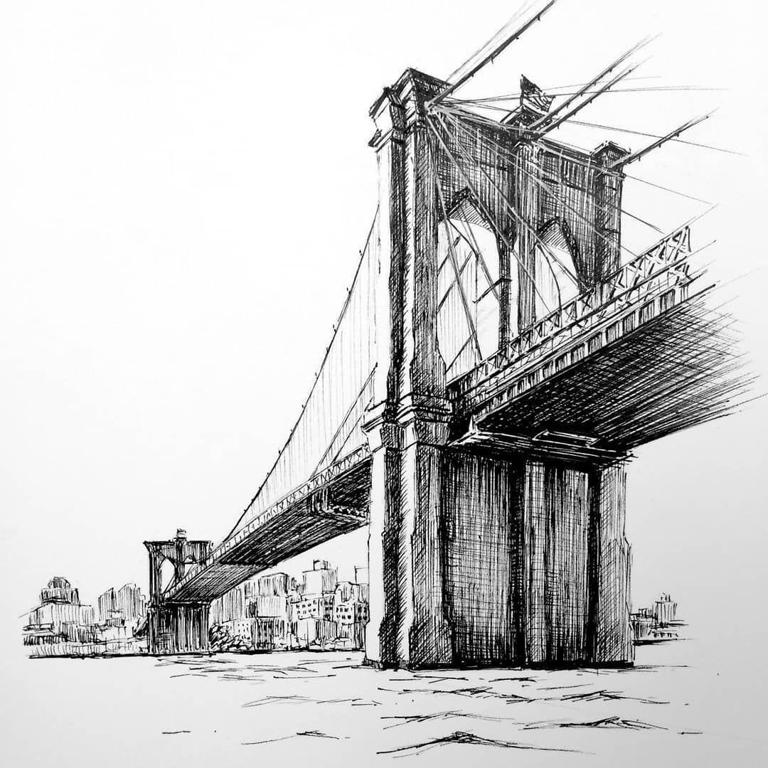 графические картинки каменных мостов себе